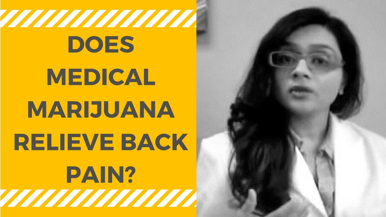 Marijuana for Back Pain