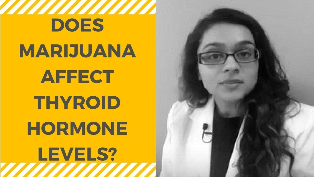 Medical Marijuana and Thyroid Hormone Levels