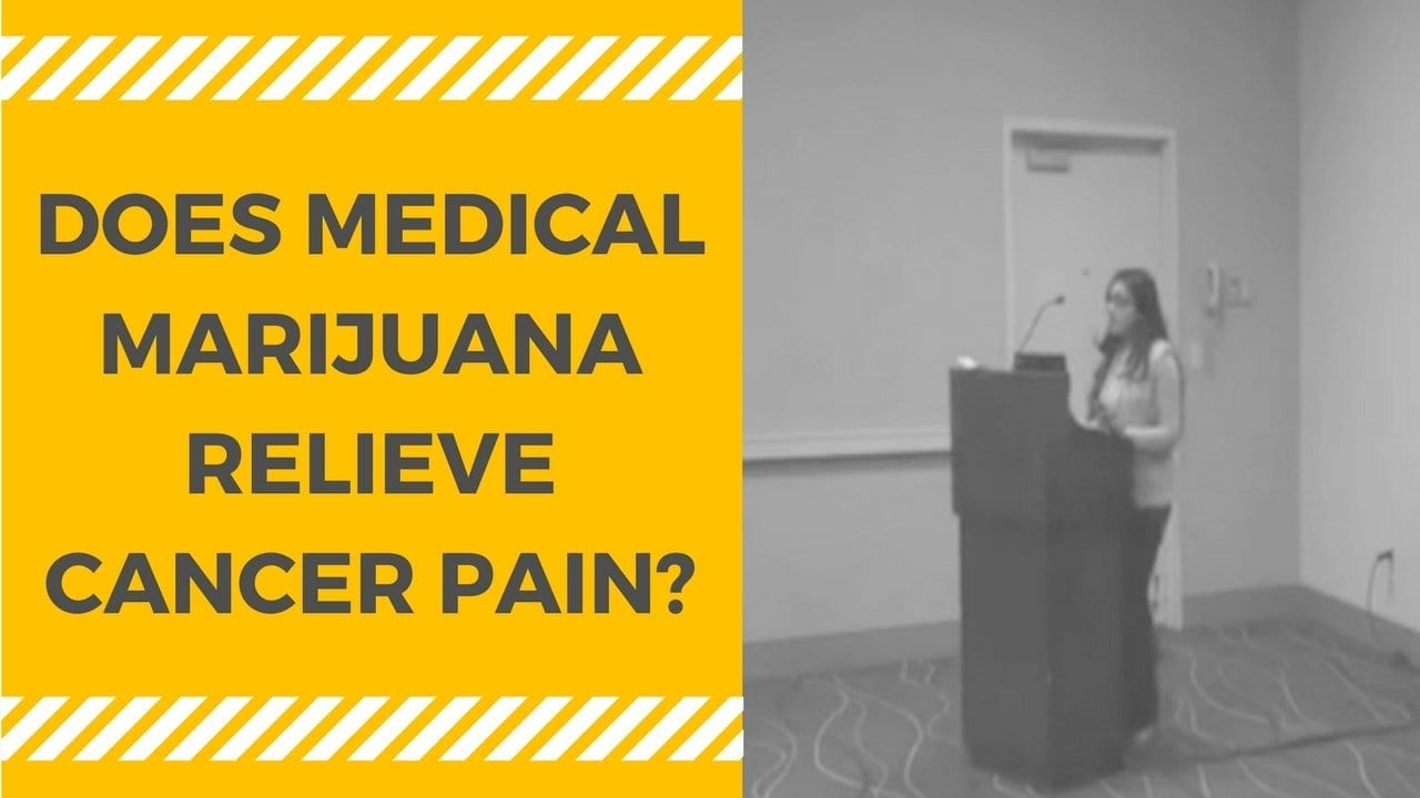 Medical Marijuana for Cancer Pain