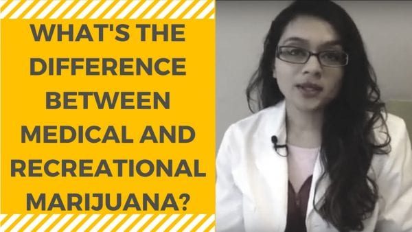 WHAT'S THE DIFFERENCE BETWEEN MEDICAL AND RECREATIONAL MARIJUANA-