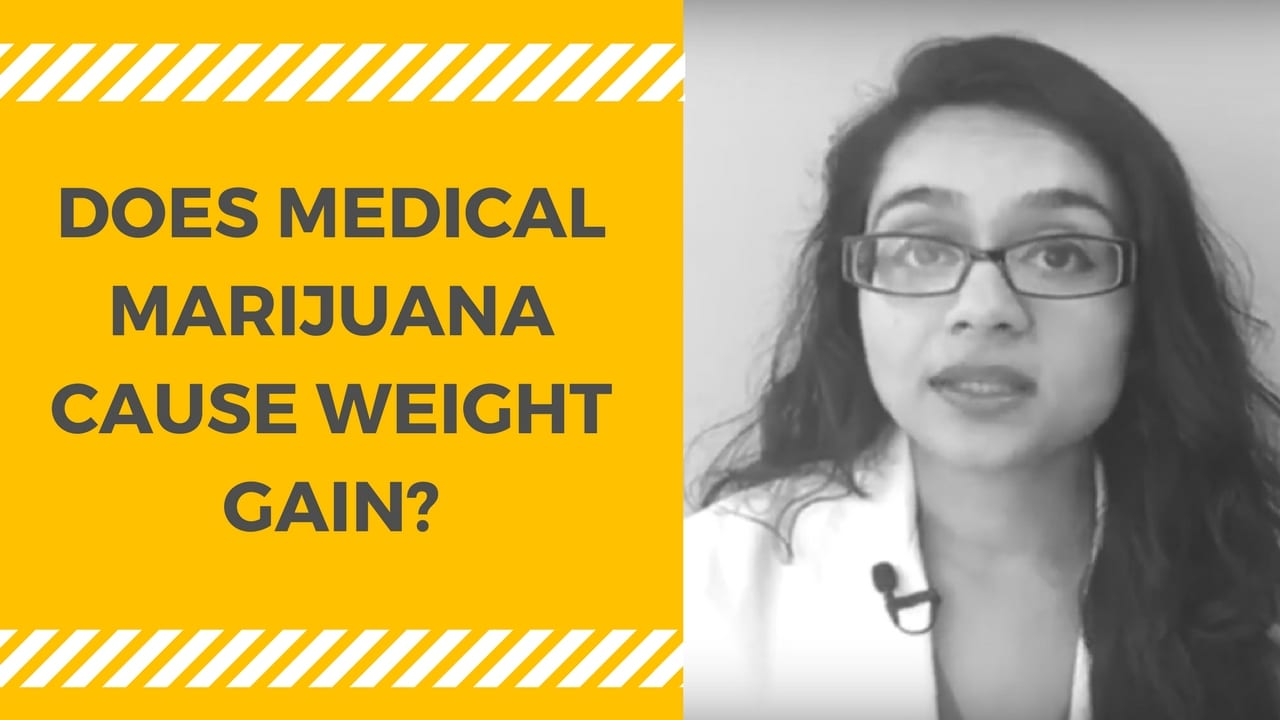Does Medical Marijuana cause Weight Gain?