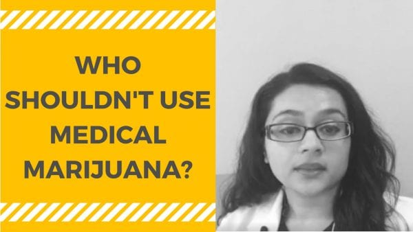 Shouldn't use medical marijuana