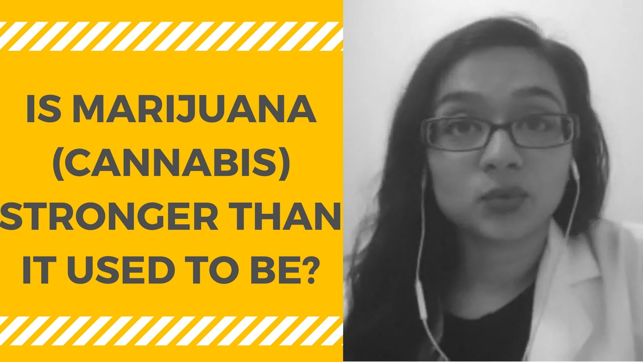 Is Marijuana (Cannabis) Stronger than It Used to Be?