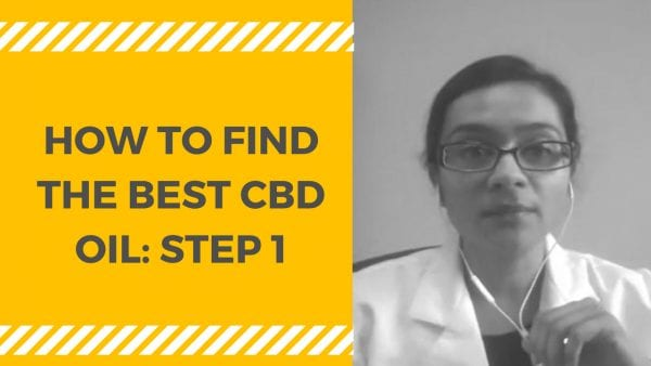 Steps to finding the best CBD Oil