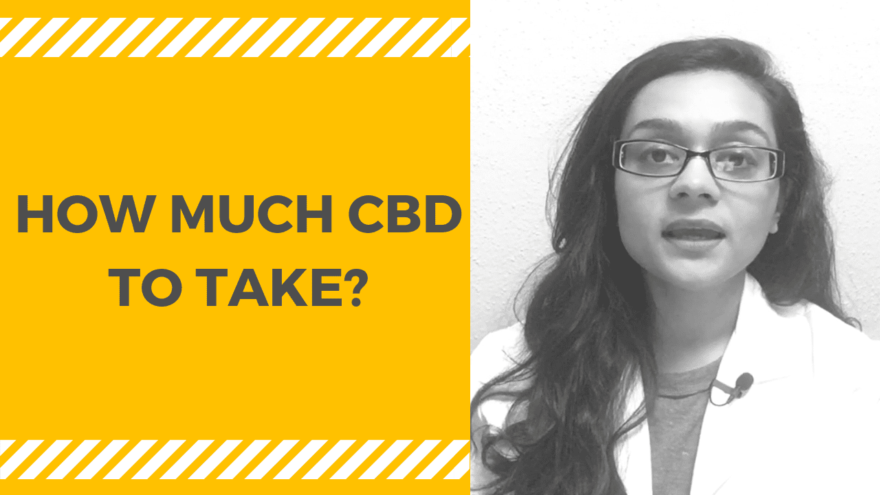 How Much CBD to Take