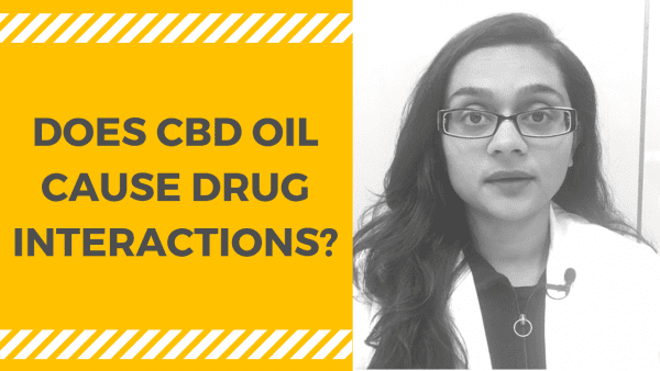 does cbd oil cause drug interactions