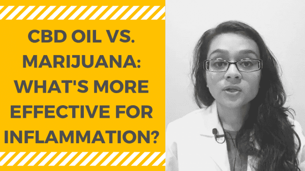 CBD OIL VS. MARIJUANA - WHAT'S MORE EFFECTIVE FOR INFLAMMATION