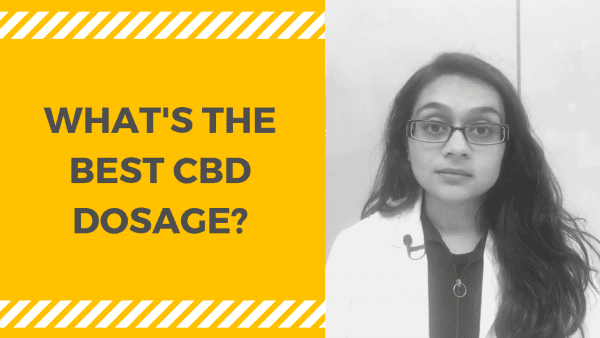 WHAT'S THE BEST CBD DOSAGE